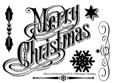 Technique-Tuesday-Merry-Christmas-Clear-Stamps-Medium