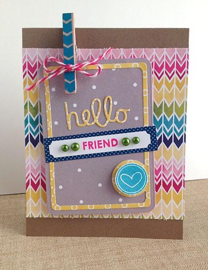 Hello friend by Daniela Dobson
