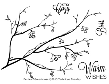 Technique-Tuesday-Greenhouse-Berries-Clear-Stamps-Medium
