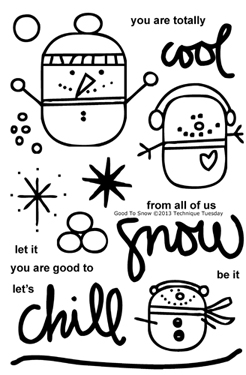 Technique-Tuesday-Good-To-Snow-Clear-Stamps-Medium