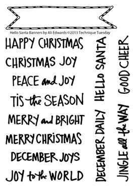 Technique-Tuesday-Hello-Santa-Banners-Clear-Stamps-Medium