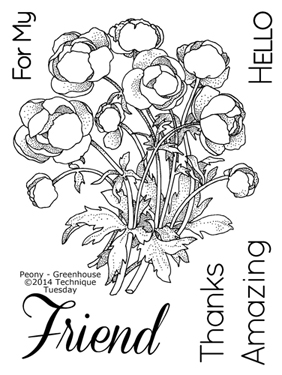 Technique-Tuesday-Greenhouse-Peony-Clear-Stamps-Medium