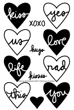 Technique-Tuesday-Kiss-Clear-Stamps-Medium