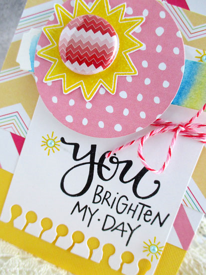 You brighten my day by Daniela Dobson