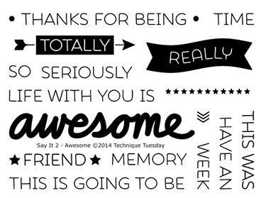 Technique-Tuesday-Say-It-2-Awesome-Clear-Stamps-Medium(1)