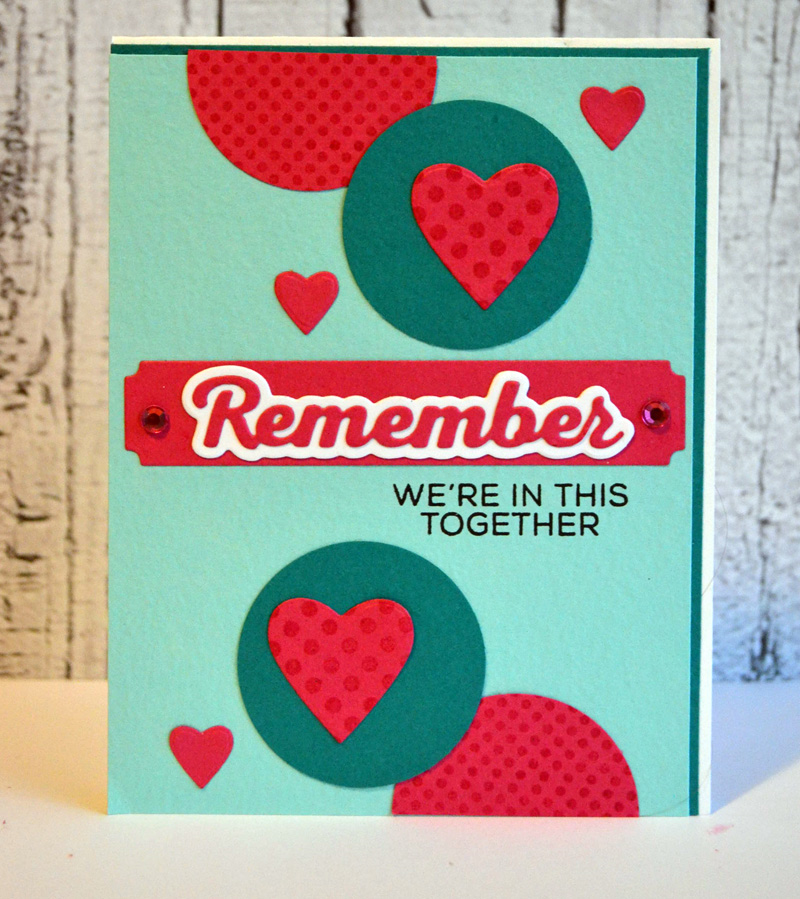 Remember Circles Card from TechniqueTuesday.com