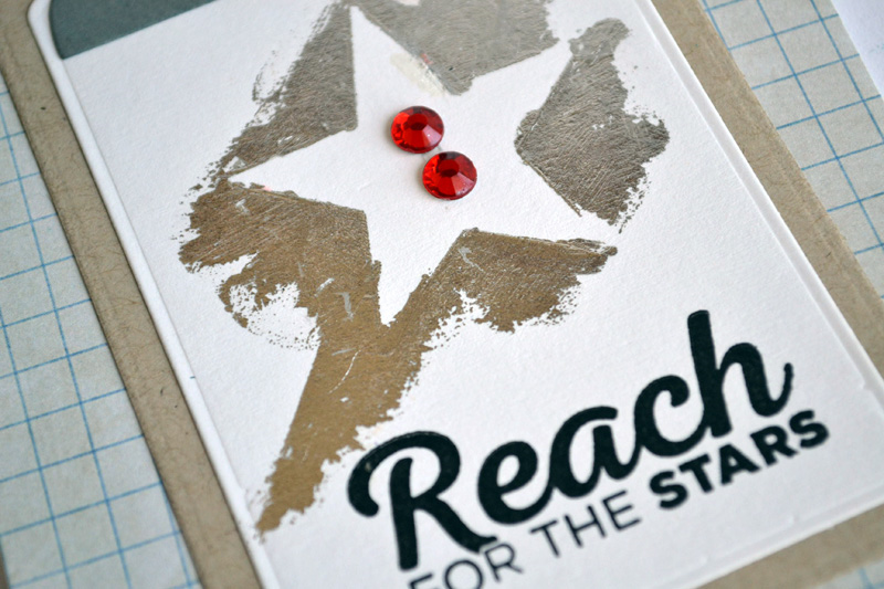 Reach for the Stars card from TechniqueTuesday.com