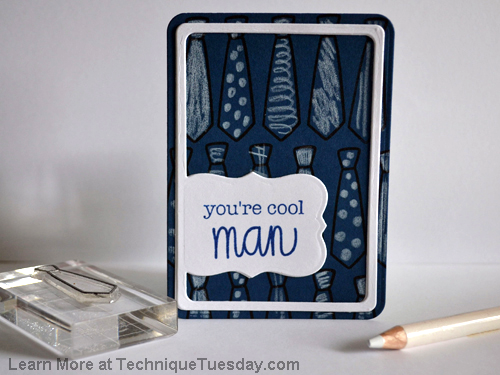 You're Cool Man card from TechniqueTuesday.com