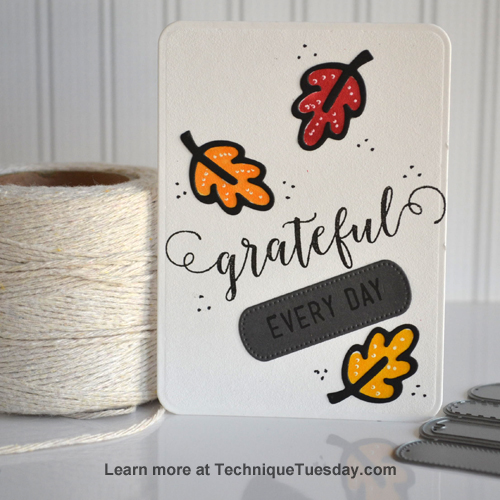 A Story Card from TechniqueTuesday.com