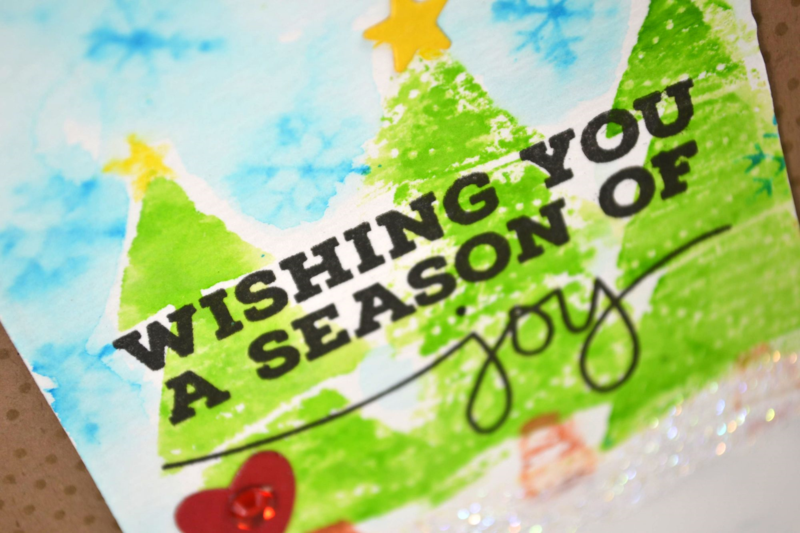Season of Joy card from TechniqueTuesday.com