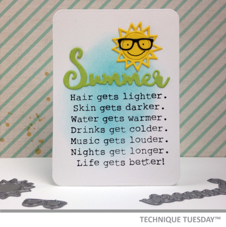 A Story Card from Technique Tuesday // TechniqueTuesday.com