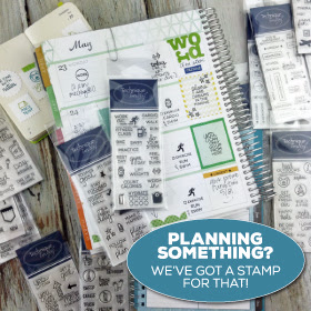 Planner stamps from Technique Tuesday // TechniqueTuesday.com