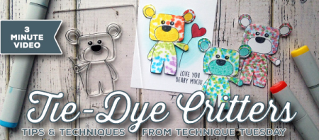 Clear Stamps and Steel Dies from Technique Tuesday // TechniqueTuesday.com