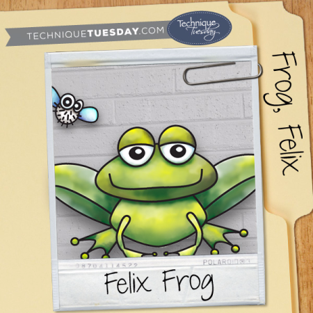 Felix the Frog from Technique Tuesday // TechniqueTuesday.com