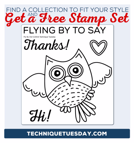 Clear stamps from Technique Tuesday // TechniqueTuesday.com
