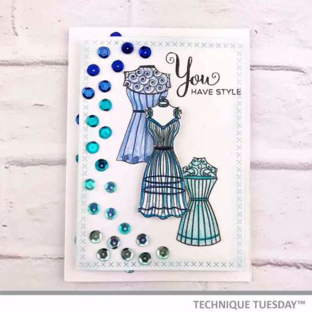 Blue-Dress-Form-Card-Shelley-G-Technique-Tuesday