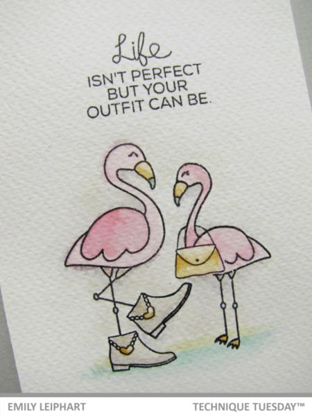 Handmade card by Emily Leiphart