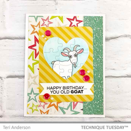 Old-Goat-Card-Teri-A-Technique-Tuesday