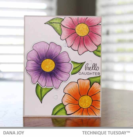 Mother's Day Card Inspiration from Technique Tuesday || TechniqueTuesday.com