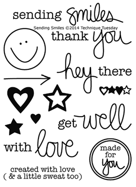 Technique-Tuesday-Sending-Smiles-Clear-Stamps-Medium
