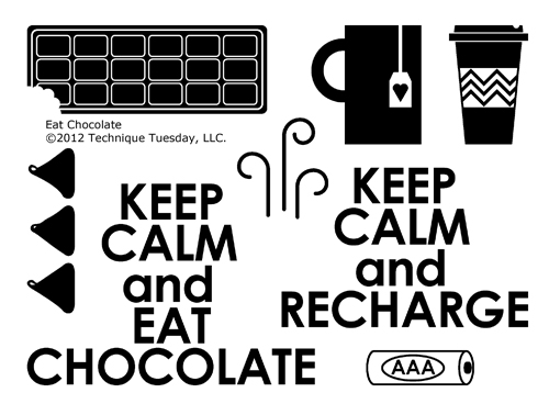 Technique-Tuesday-Eat-Chocolate-Clear-Stamps-Large