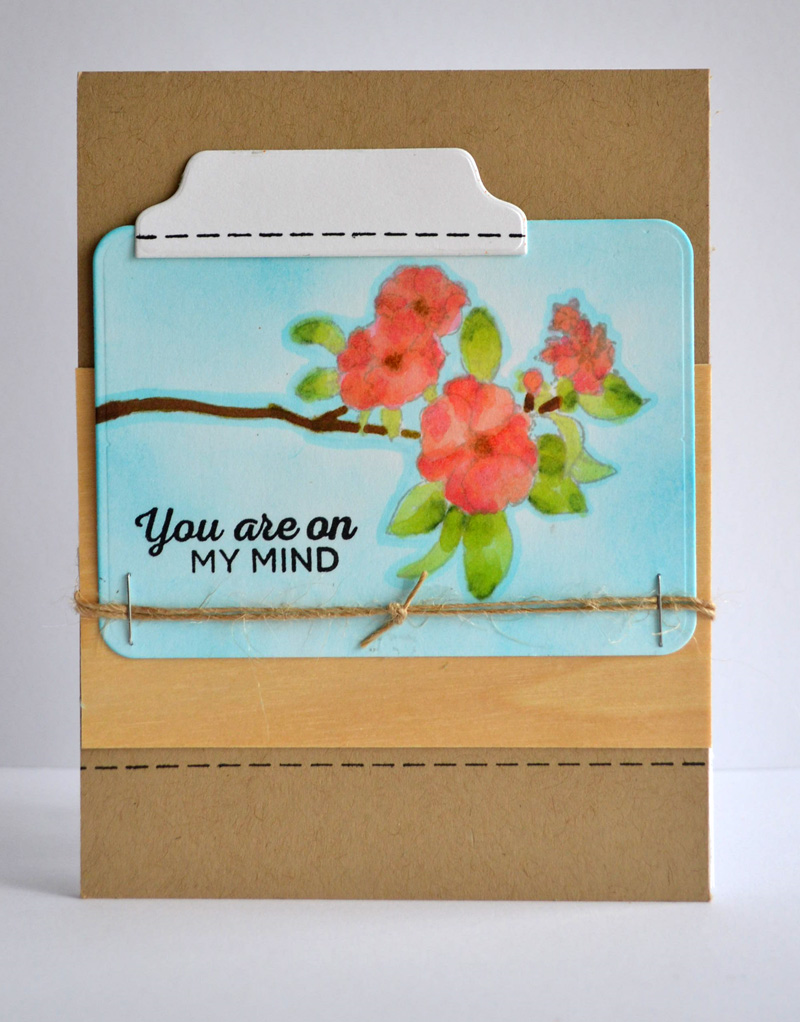 A card created with stamps by TechniqueTuesday.com