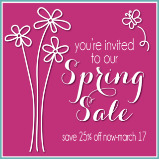 Technique Tuesday Spring Sale
