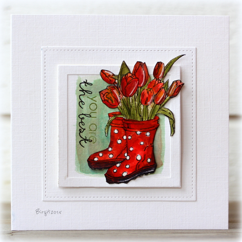 Red Boots by Birgit Edblom for TechniqueTuesday.com