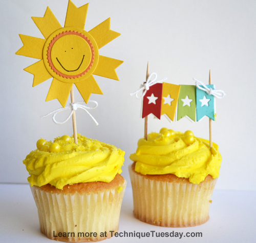 Summer Cupcake Picks from TechniqueTuesday.com