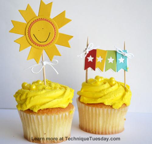 Summer Cupcake Picks from TechniqueTuesday.com