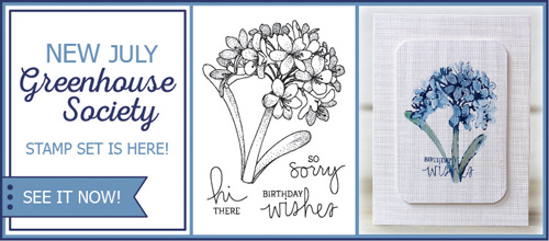 Agapanthus stamp set from TechniqueTuesday.com