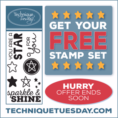 Technique Tuesday clear stamps and steel dies // TechniqueTuesday.com