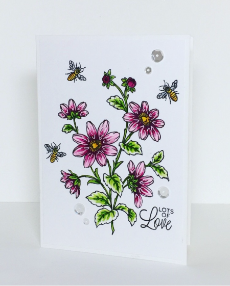 Lots of Love by Barb Engler for Technique Tuesday // TechniqueTuesday.com