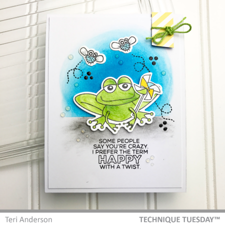 SSS-Happy-With-A-Twist-Frog-Handmade-Card-Teri-A-Technique-Tuesday