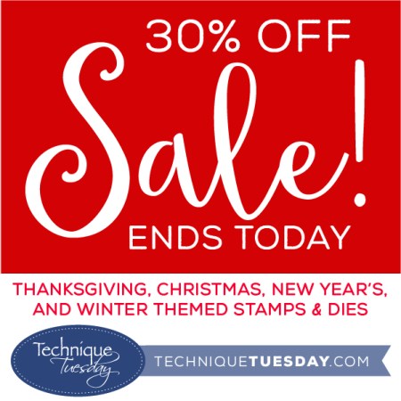 Pre-Holiday Sale from Technique Tuesday