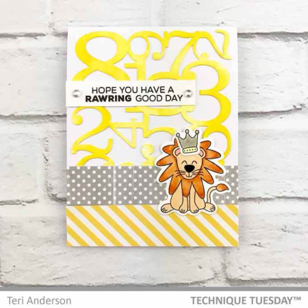 Rawring-Lion-Numbers-Card-Teri-A-Technique-Tuesday