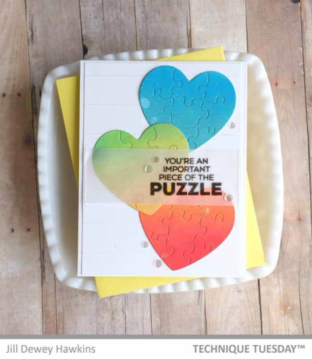 Rainbow-Heart-Puzzle-Card-Close-Jill-H-Technique-Tuesday