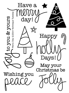 Technique-Tuesday-Merry-Day-Clear-Stamps-Medium