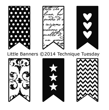 Technique-Tuesday-Little-Banners-Clear-Stamps-Medium
