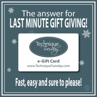 E-Gift Cards from Technique Tuesday