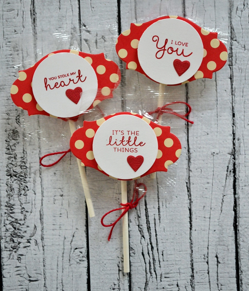 Valentine's Lollipops from TechniqueTuesday.com