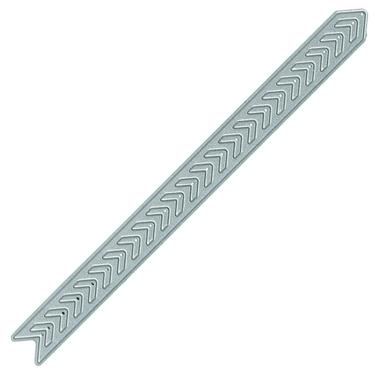 Chevron Strip steel die from TechniqueTuesday.com