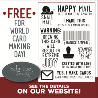 Free Snail Mail from TechniqueTuesday.com