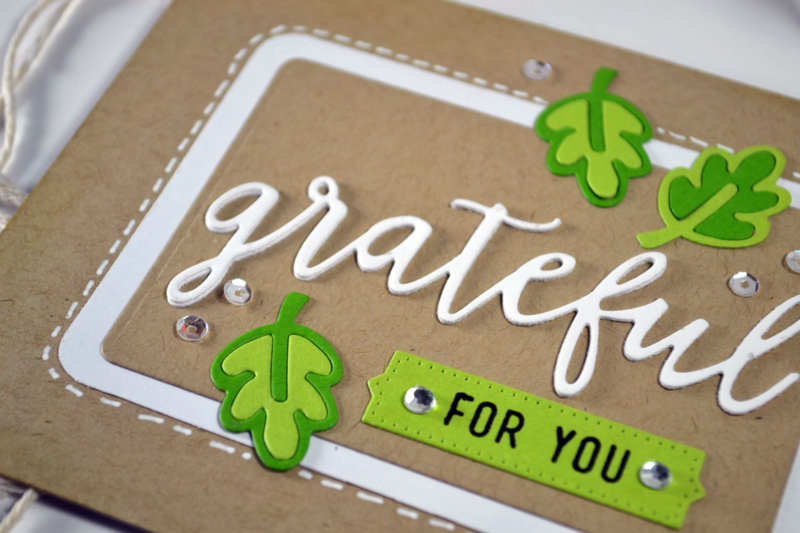 Grateful card from TechniqueTuesday.com