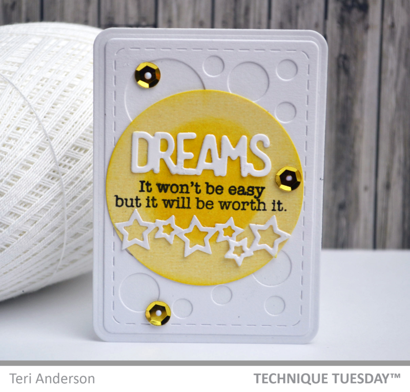 A pocket page-friendly Story Card from TechniqueTuesday.com