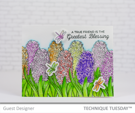 Greatest Blessing by Mary Dawn Quirindongo for Technique Tuesday // TechniqueTuesday.com