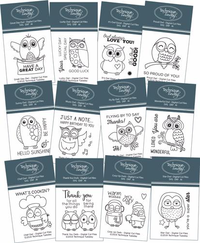 Owl-Bundle-Clear-Stamp-Sets-Technique-Tuesday-Large