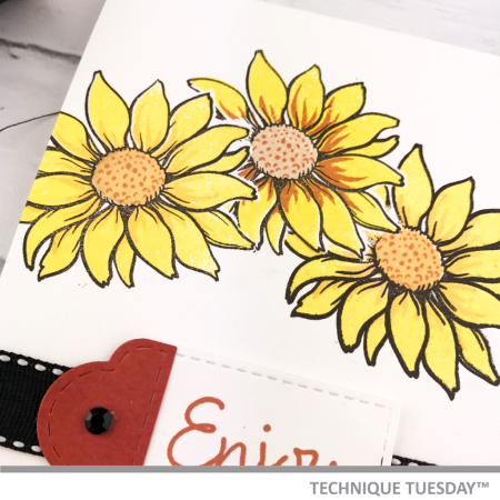 Enjoy-Yellow-Flowers-Handmade-Card-Close-Bev-G-Technique-Tuesday