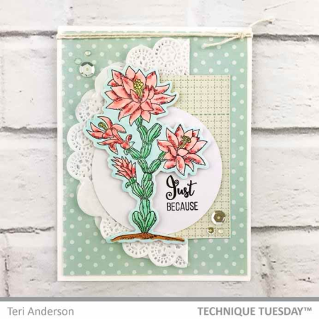 Just-Because-Cactus-Card-Teri-A-Technique-Tuesday