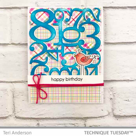 Happy-Birthday-Bird-Numbers-Card-Teri-A-Technique-Tuesday